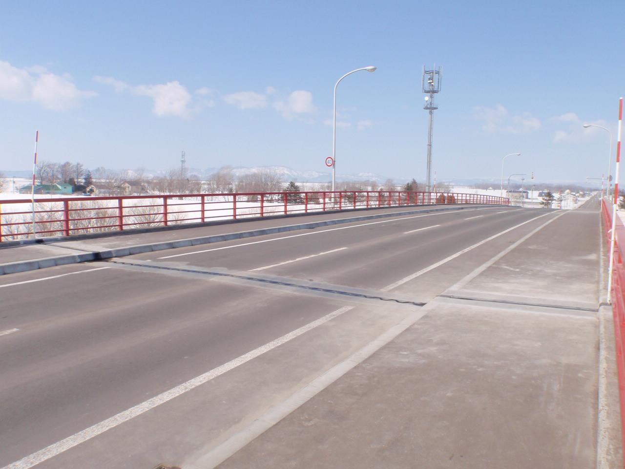 夕張岩見沢線防B500-8地方道(橋梁補修)工事外
