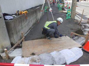金山建設現在施工中!④