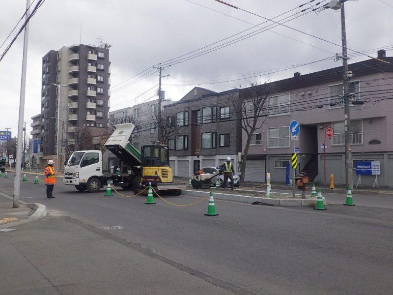 工事のご報告/金山建設