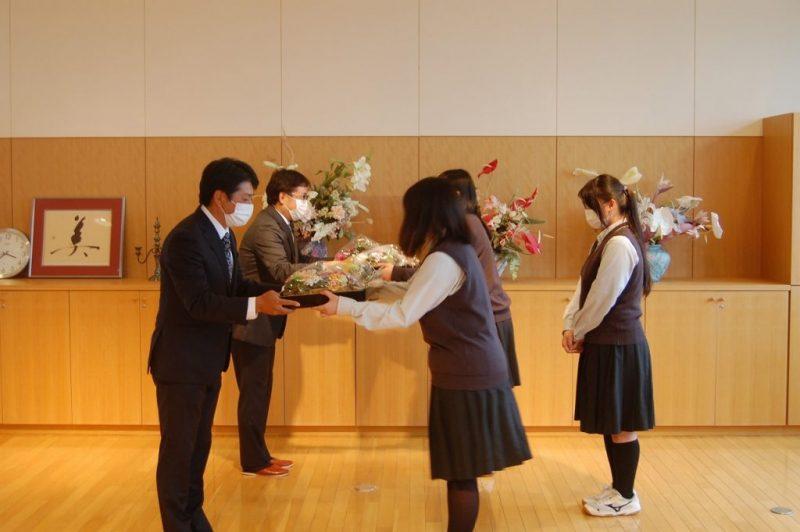 美唄尚栄高校様から感謝状を頂きました!6/18