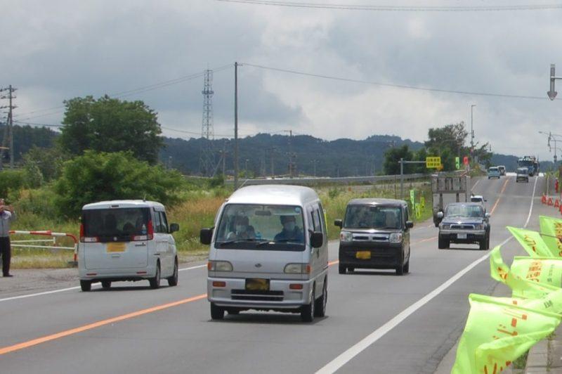 2020.7交通安全運動街頭啓発(セーフティコール)を行いました。