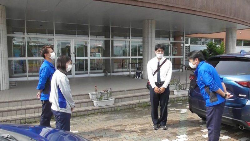 丸庭佐藤建設 企業見学を実施!