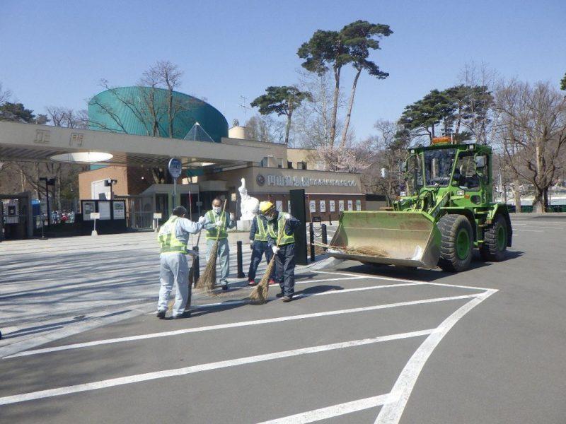 円山動物園周辺を綺麗に!ゴミ拾いを実施/東亜工業