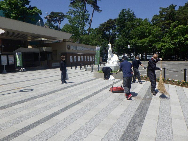 円山動物園周辺を綺麗に!Part2 /東亜工業