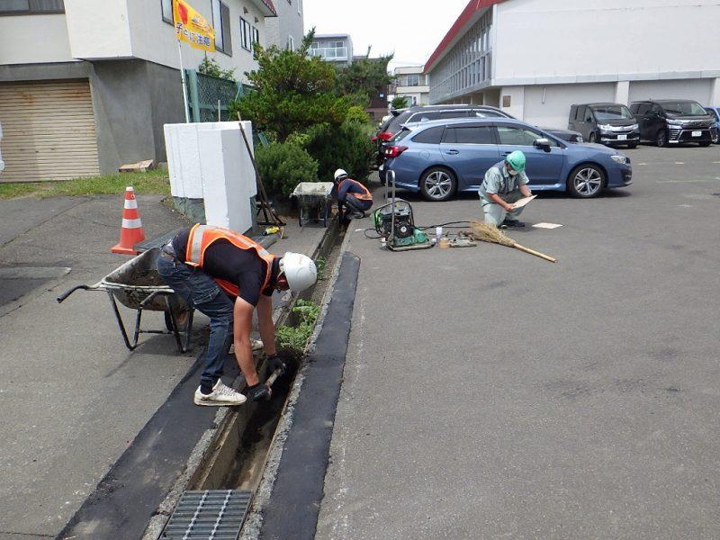 地域貢献活動を実施/金山建設