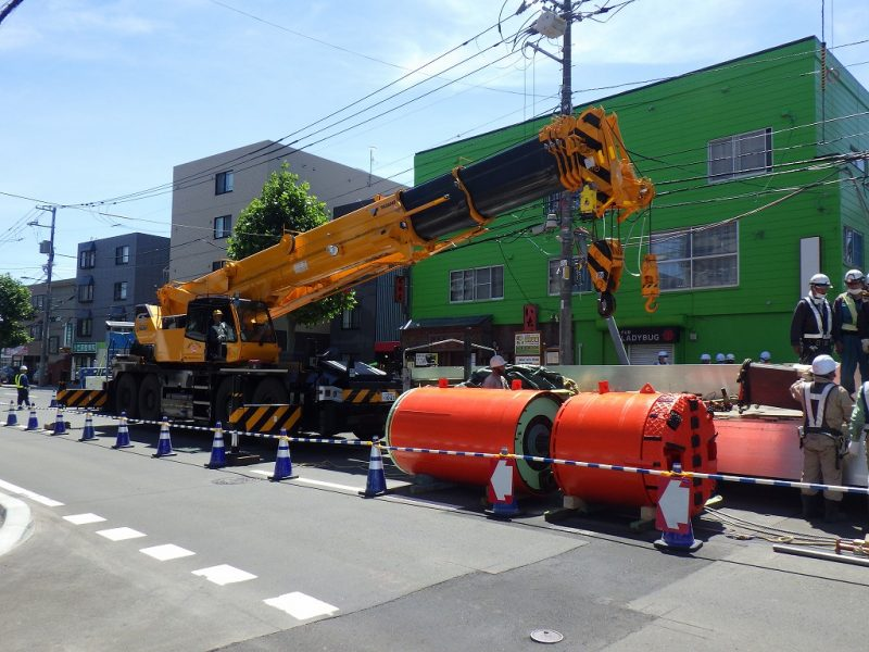 工事状況/東亜工業