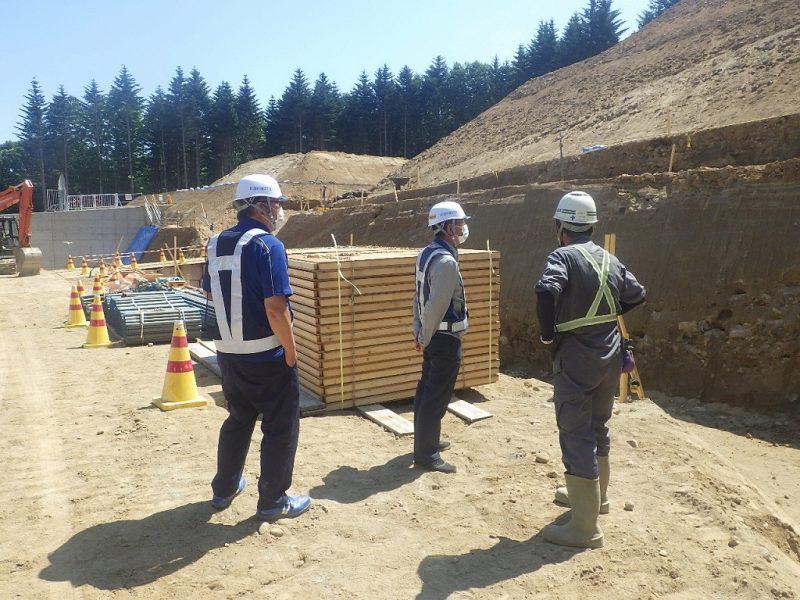 グループパトロールを行いました/金山建設