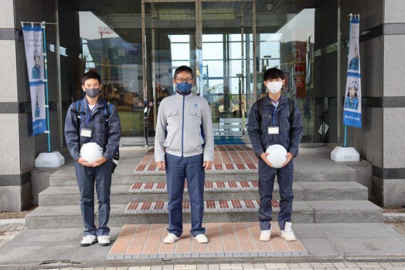 社会体験実習/美唄尚栄高校2年生が参加